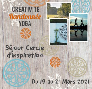 Stage «Cercle d'inspiration» – Mars 2021