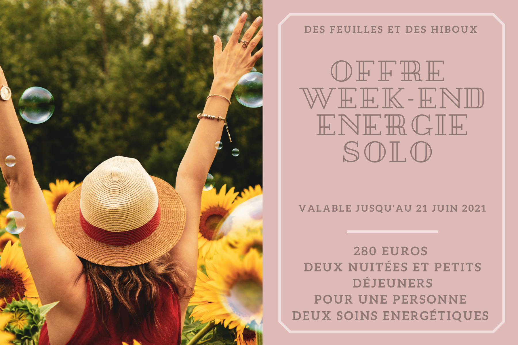 Offre Week-end du Printemps