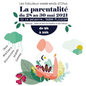 Un week-end sur la parentalité – 28, 29 et 30 Mai 2021