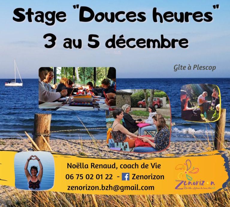 Stage Douces Heures – Décembre 2021